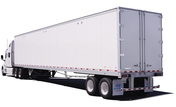 Composite Dry Van Trailer