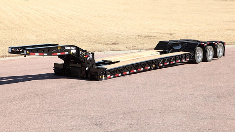 Hydraulic Detachable Gooseneck Lowbed