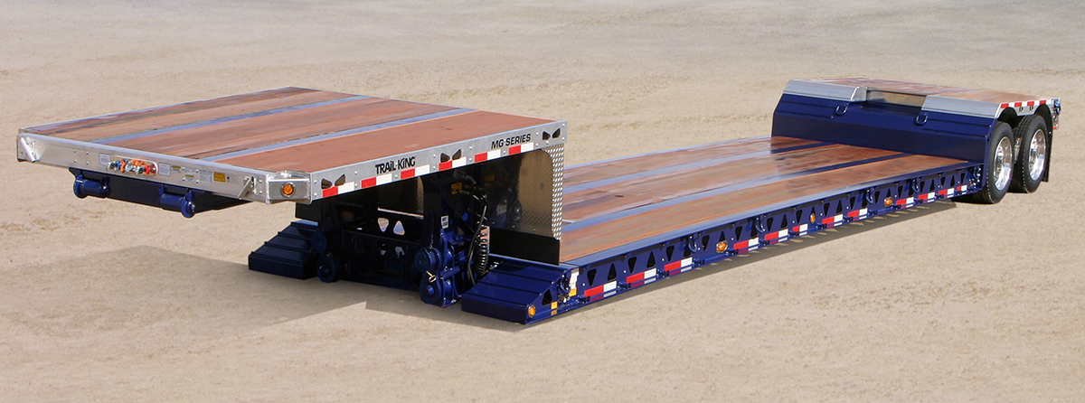 trail king mechanical gooseneck trailer
