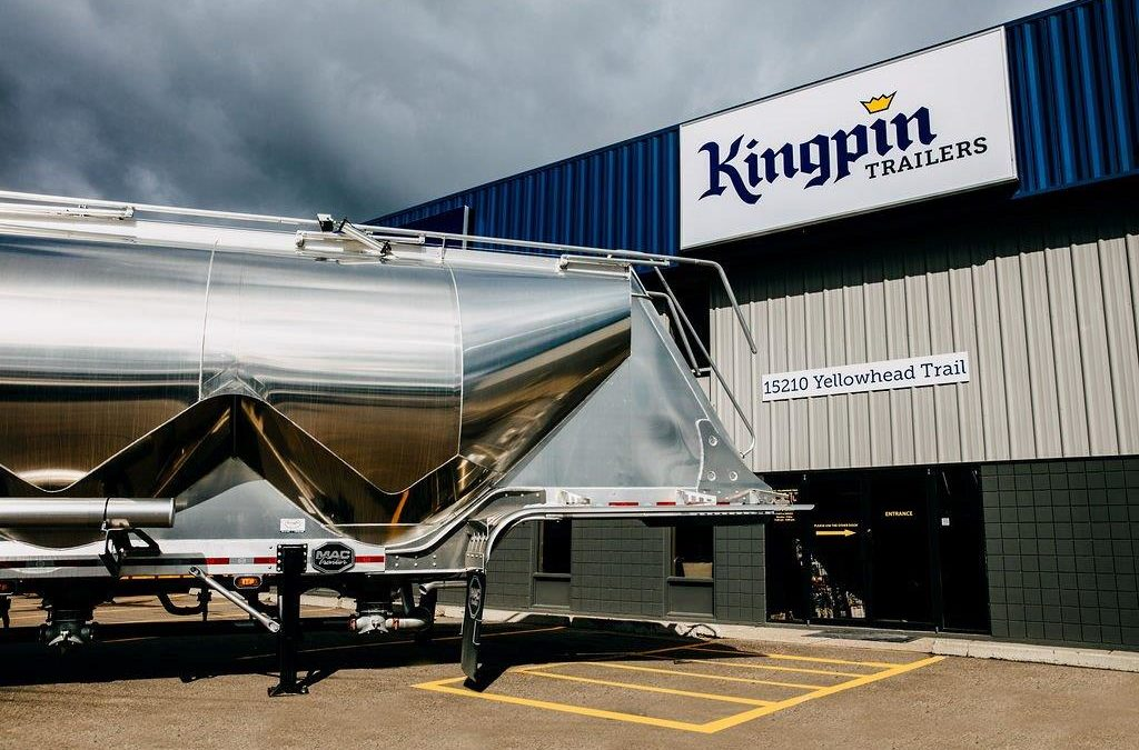 Kingpin Repairs Trailers in Edmonton
