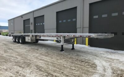 Flat Deck Trailers Available at Kingpin