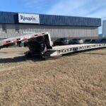 lowboy hydraulic detatchable gooseneck trailers canada